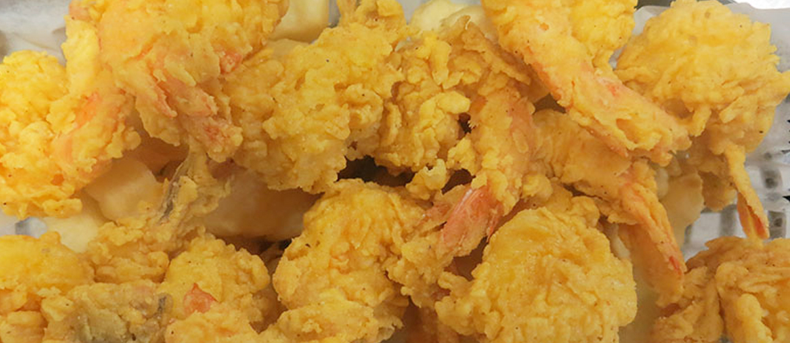 Fried Shrimp Beer